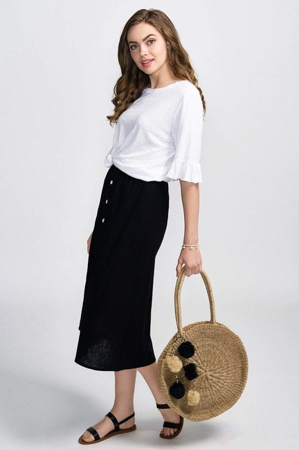 Coast Casual Spring Summer Classic Skirt White Image 3