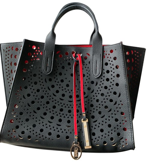 Preload https://img-static.tradesy.com/item/25318393/carlos-by-carlos-santana-with-detachable-large-pouch-black-and-red-leather-tote-0-1-540-540.jpg