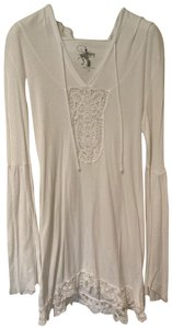 Nightcap lace embroidered with hood