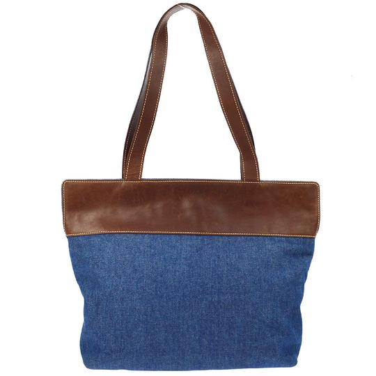 Chanel Tote in Denim Brown Image 1