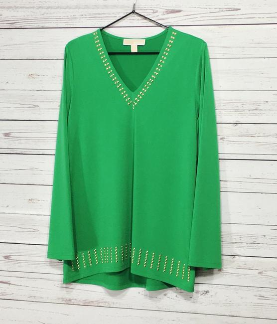 Michael Kors Top Green Image 1