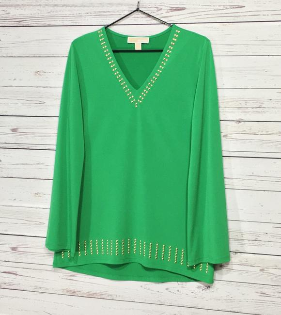 Michael Kors Top Green Image 7