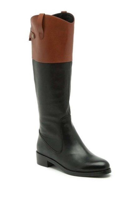 Item - Black and Brown Heritage Barbara Tall Riding Boots/Booties Size US 8 Regular (M, B)
