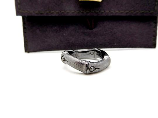 John Hardy John Hardy Sterling Silver 6mm Bamboo Curved Band Ring Image 2