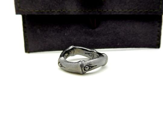 John Hardy John Hardy Sterling Silver 6mm Bamboo Curved Band Ring Image 3