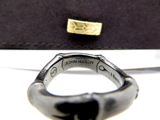 John Hardy John Hardy Sterling Silver 6mm Bamboo Curved Band Ring Image 4