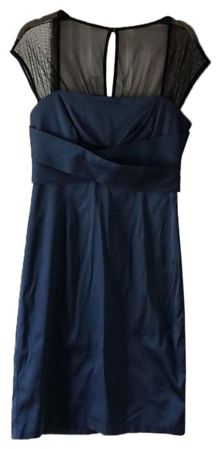 Preload https://img-static.tradesy.com/item/25318562/donna-ricco-black-and-navy-mid-length-cocktail-dress-size-8-m-0-1-650-650.jpg