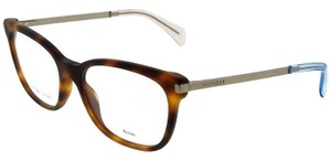 Tommy Hilfiger TH1381-QEB-53 Square Women's Havana Frame Clear Lens Eyeglasses