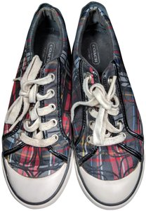 Coach Sneakers Plaid Athletic