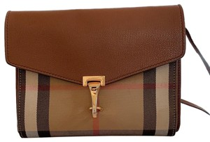 7d23e56863c Brown Leather Burberry Cross Body Bags - Up to 70% off at Tradesy