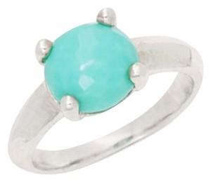 Ippolita IPPOLITA Turquoise Rock Candy Knife Edge Sterling Silver Ring