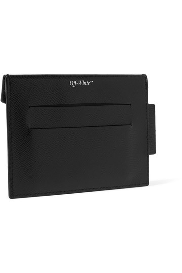 Off-White Printed textured-leather cardholder Image 1