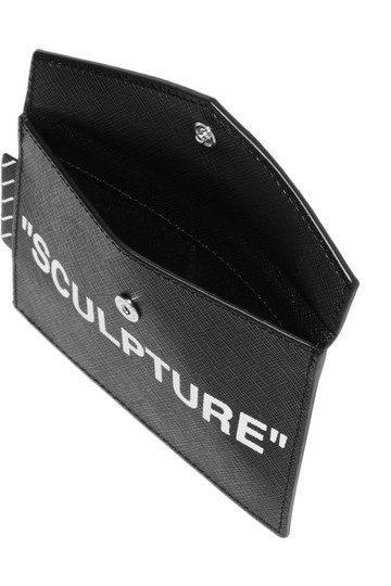Off-White Printed textured-leather cardholder Image 2