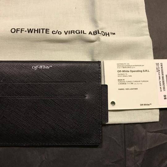 Off-White Printed textured-leather cardholder Image 5