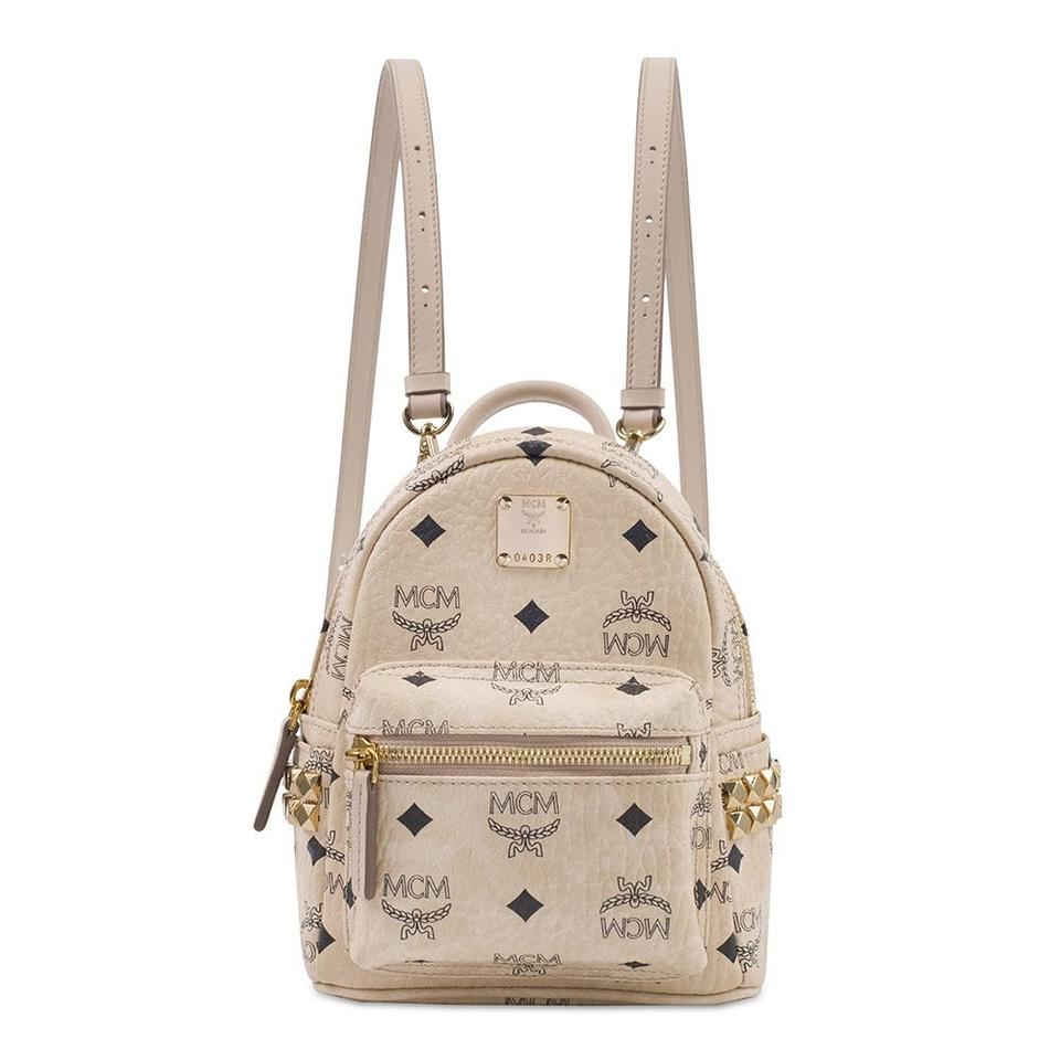 X mini Stark Bebe Boo Backpack In Beige