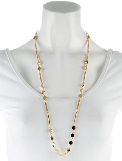 Kate Spade Kate Spade Dotted LIne Station Necklace NWT Image 2