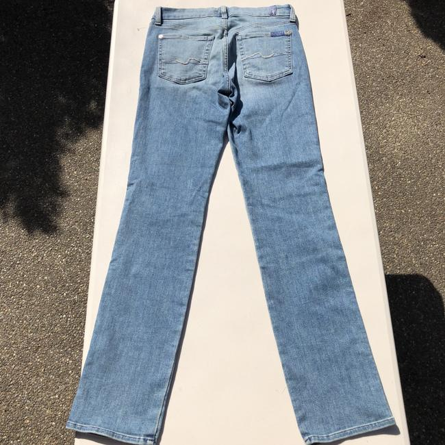 7 For All Mankind Straight Leg Jeans Image 5