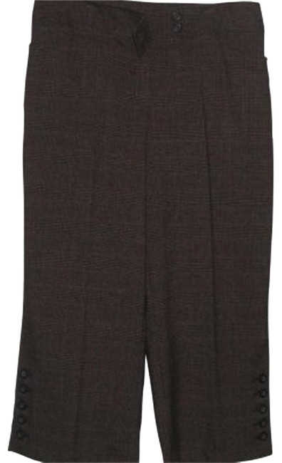 Item - Brown Tweed Fabric Capris Size 10 (M, 31)