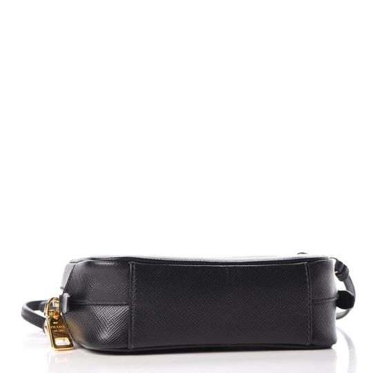 Prada Leather Logo Italian Cross Body Bag Image 8