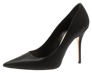 Dior Pointed Toe Leather Black Pumps