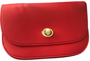 Anthropologie Red Clutch