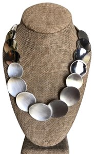 Chloe + Isabel Anniversary Silver Statement Necklace