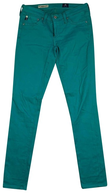 Preload https://img-static.tradesy.com/item/25321600/ag-adriano-goldschmied-green-ankle-skinny-teal-r-jeggings-size-24-plus-2x-0-2-650-650.jpg