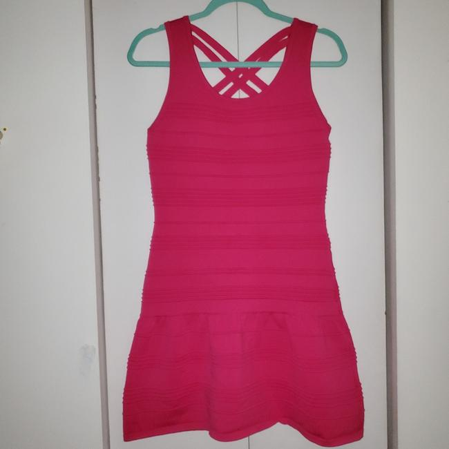 Preload https://item4.tradesy.com/images/forever-21-hot-pink-51009200024-short-casual-dress-size-12-l-25321793-0-0.jpg?width=400&height=650
