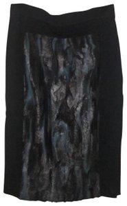 BCBGMAXAZRIA Skirt black, blue, grey