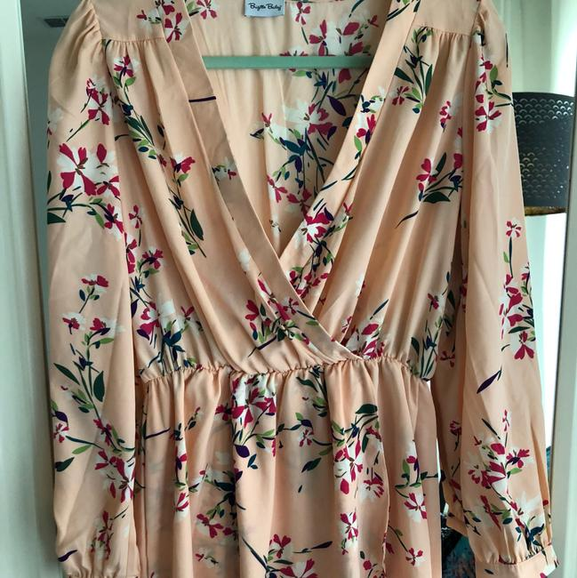Pink Floral Dress short dress on Tradesy Image 1