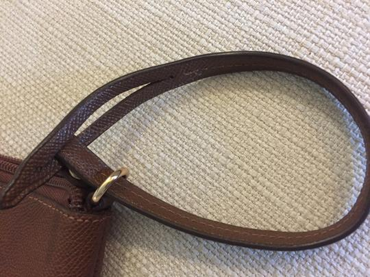 Coach Cosmetic Brown Canvas Wristlet in tobacco Image 4