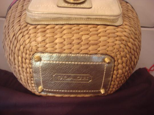 Coach Tag Tote in NATURAL AND MULTI Image 9