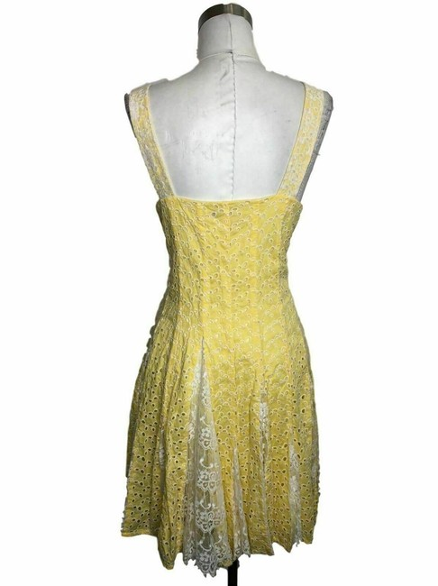 Betsey Johnson short dress Yellow on Tradesy Image 1