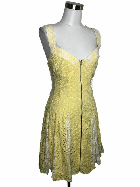 Betsey Johnson short dress Yellow on Tradesy Image 2