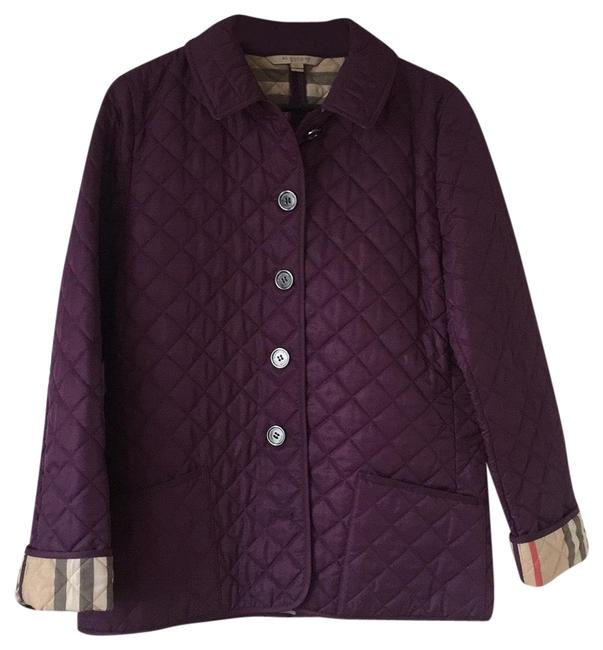 Item - Purple Quilted Jacket Size 12 (L)