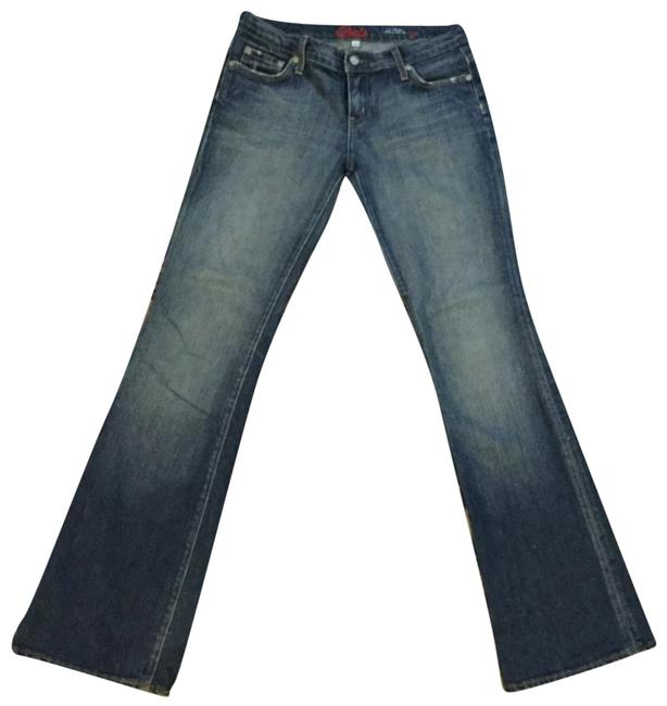 Item - Distressed Kate #121 Boot Cut Jeans Size 27 (4, S)