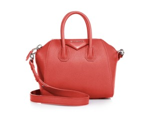 Givenchy Satchel in Bright Red
