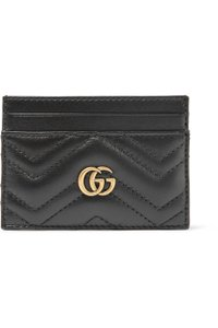 Gucci marmont quilted leather card holder