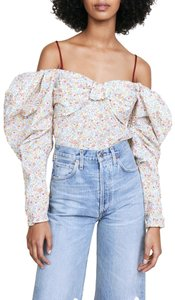 Hellessy Top White / Floral