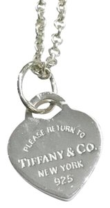 Tiffany & Co. GORGEOUS!! New Style Mini Return to Tiffany Heart Necklace