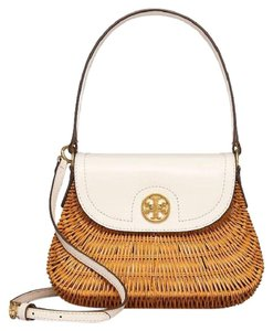 Tory Burch Satchel in Ivory/natural