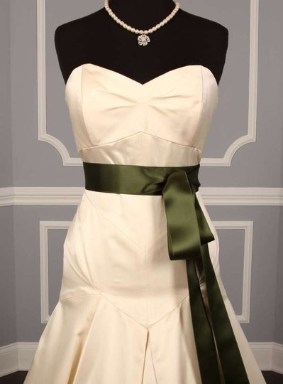 Fern Green Ribbon Sash