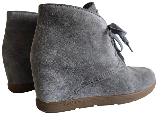 Item - Grey Suede Boots/Booties Size EU 41 (Approx. US 11) Regular (M, B)