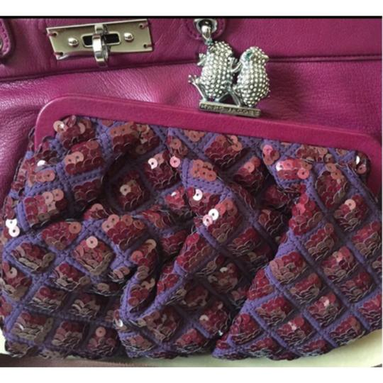 Marc Jacobs Satchel in Fuchsia/Silver Hardware Image 2