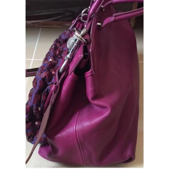 Marc Jacobs Satchel in Fuchsia/Silver Hardware Image 4