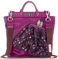 Marc Jacobs Satchel in Fuchsia/Silver Hardware