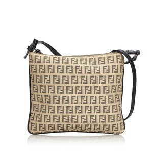Fendi 9cfncx022 Vintage Blend Leather Cross Body Bag