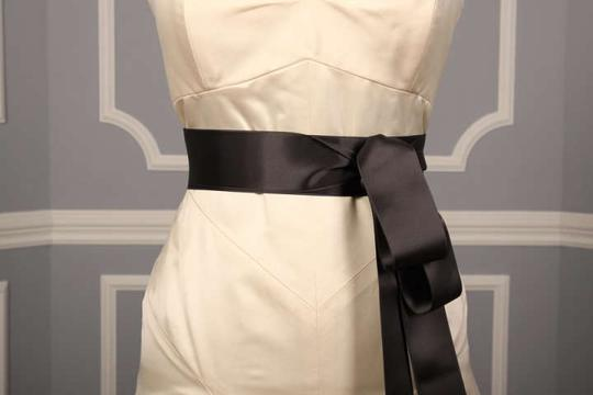 Preload https://item3.tradesy.com/images/charcoal-grey-ribbon-sash-253242-0-0.jpg?width=440&height=440