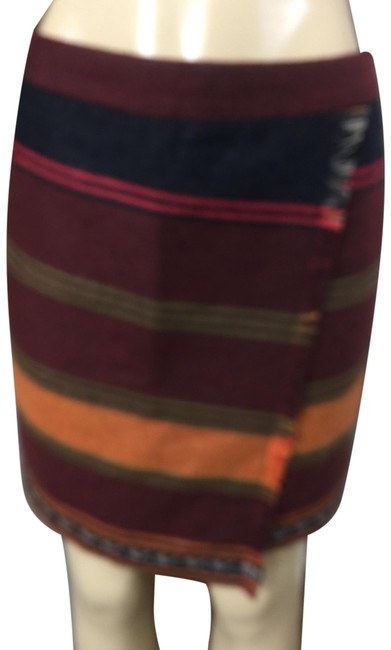 Item - Multicolor Sexy Fringe Skirt Size 6 (S, 28)