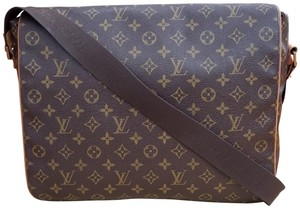 Louis Vuitton Crossbody Mens Bastille Monogram Brown Messenger Bag